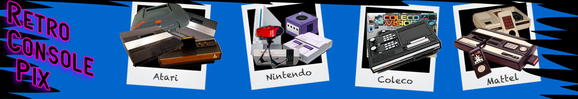 Detailed Images of Retro Classic Video Game Consoles!