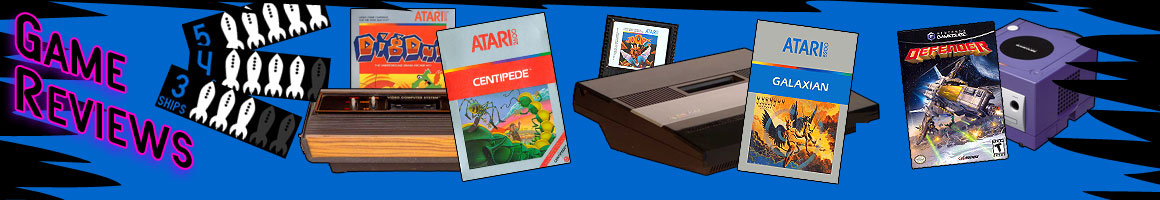 Retro Video Game Reviews From ATARI to NINTENDO and SONY
