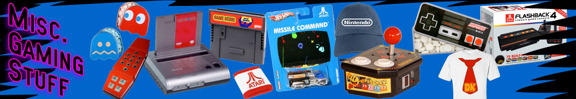 Miscellaneous retro gaming stuff
