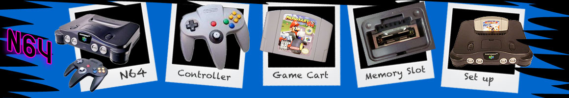Classic Video Games Nintendo N64