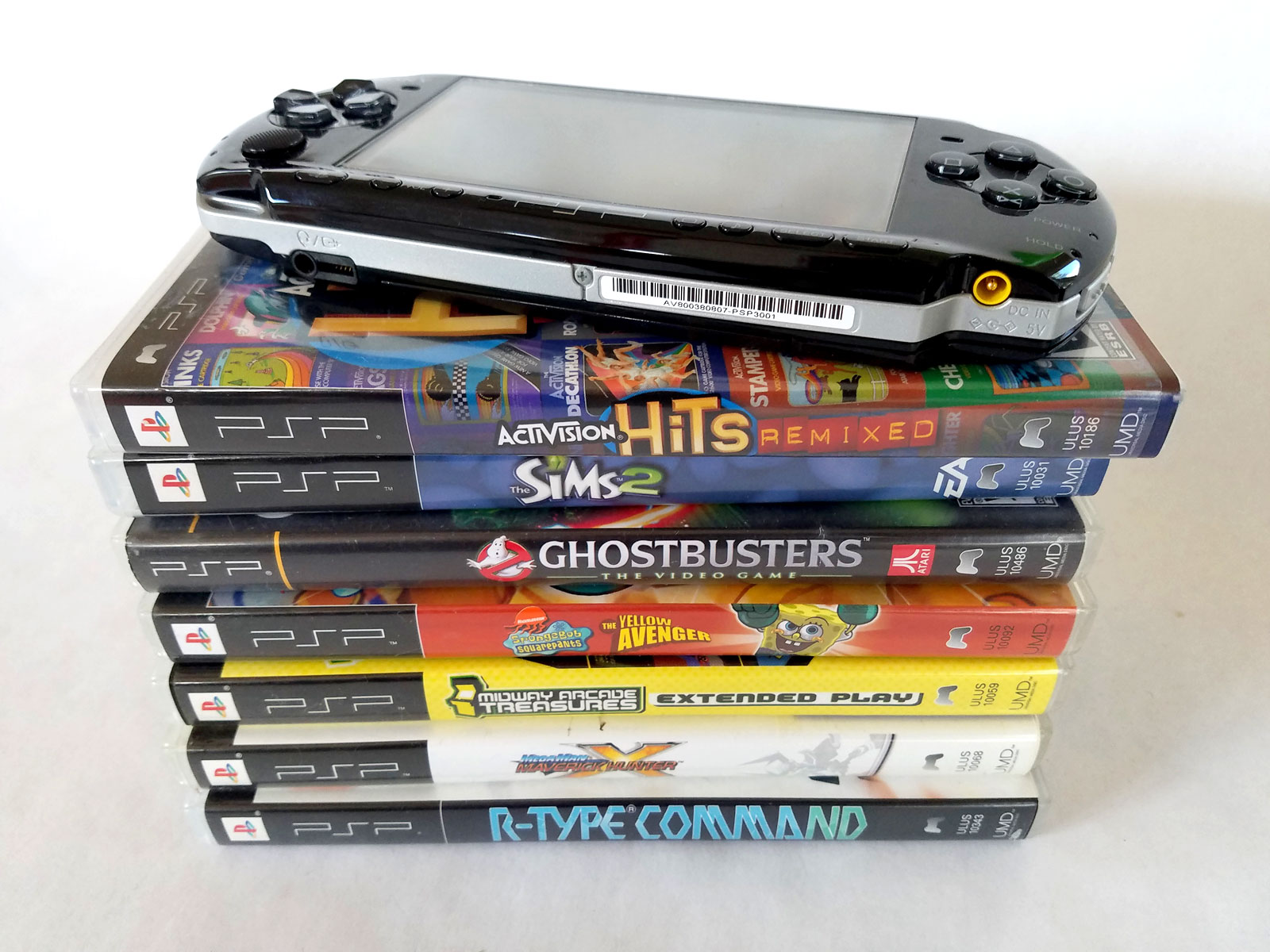 Sonys Playstation Portable is the only handheld to use