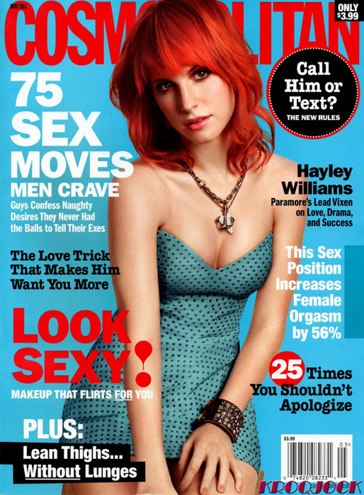 hayley williams cosmo magazine cover. see Hayley Williams#39; Cosmo