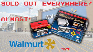 Nintendo under-delivers NES Classic Edition while WalMart hoards product for week-after sale