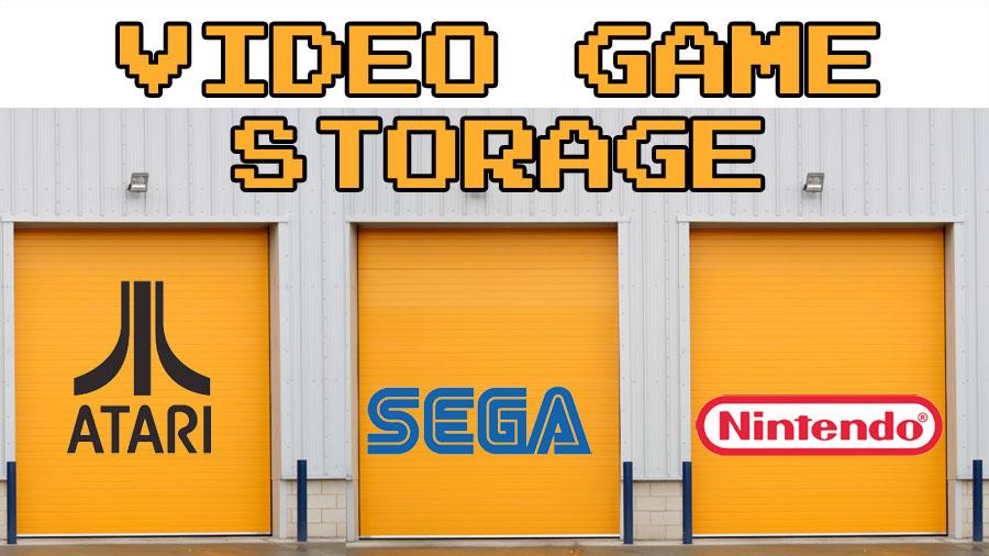 Video Game Storage For Retro Game Cartridges Retro Game Cases